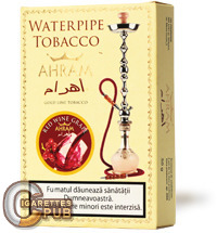 Ahram Red Wine Grape Hookah Tobacco (10 Packs x 50 Grams) 1 Cartons