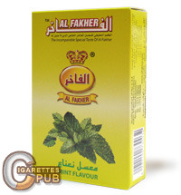 Al Fakher Mint Flavour Hookah Tobacco (10 Packs x 50 Grams) 1 Cartons