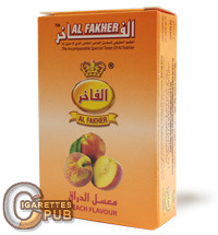 Al Fakher Peach Flavour Hookah Tobacco (10 Packs x 50 Grams) 1 Cartons