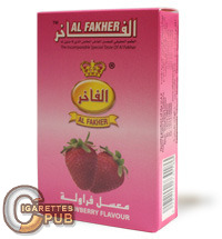 Al Fakher Strawberry Flavour Hookah Tobacco (10 Packs x 50 Grams) 1 Cartons