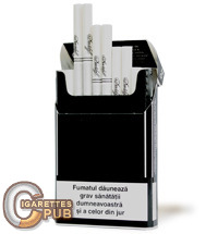 Davidoff B&W Black Slims 1 Cartons