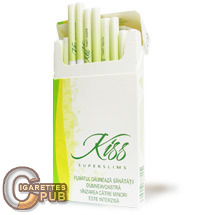 Kiss Superslims Fresh Apple 1 Cartons