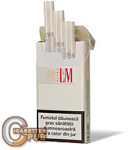 L&M Slims Coral White 1 Cartons
