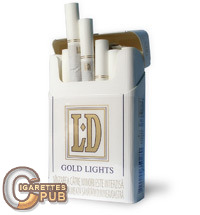 LD Gold Lights 1 Cartons
