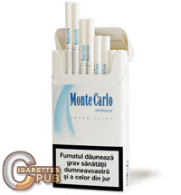 Monte Carlo Super Slims Intrigue 1 Cartons