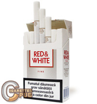 Red & White Fine 1 Cartons