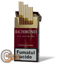 Richmond Superslim Cherry 1 Cartons