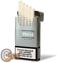 West Compact Silver 1 Cartons